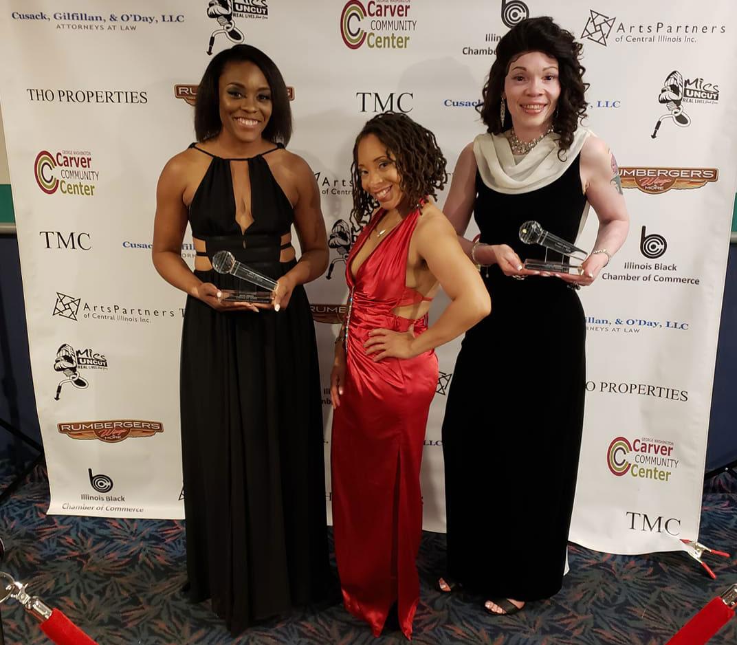 Muse Award Recipients Chama StLouis Tina Hobson